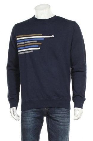 Мъжка блуза Armedangels, Размер M, Цвят Син, Памук, Цена 24,78лв.