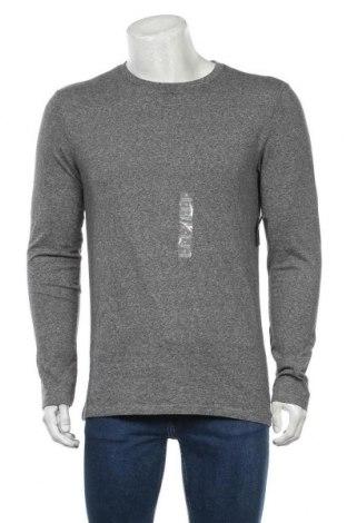 Мъжка блуза Express, Размер M, Цвят Сив, 94% памук, 6% еластан, Цена 23,52лв.