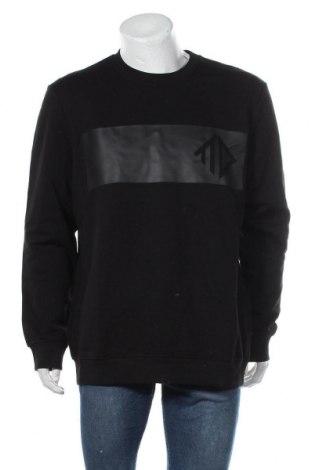 Мъжка блуза Tom Tailor, Размер XXL, Цвят Черен, 80% памук, 20% полиестер, Цена 26,55лв.
