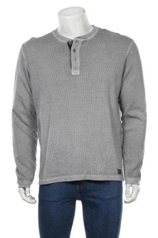 Bluză de bărbați Tom Tailor, Mărime M, Culoare Gri, 99% bumbac, 1% viscoză, Preț 58,62 Lei