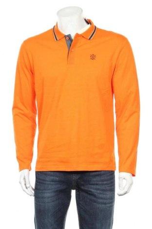 Мъжка блуза Tom Tailor, Размер M, Цвят Оранжев, Памук, Цена 18,90лв.