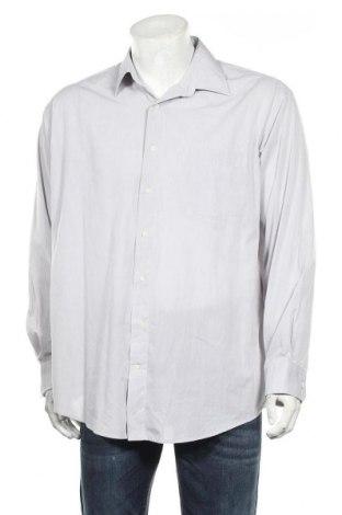 Мъжка риза A.W.Dunmore, Размер XL, Цвят Сив, 65% полиестер, 35% памук, Цена 15,12лв.