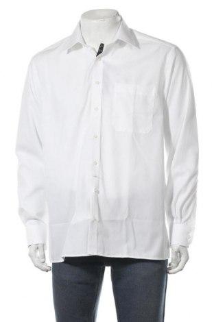 Мъжка риза Eterna, Размер L, Цвят Бял, Памук, Цена 59,25лв.