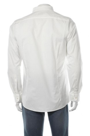 Мъжка риза Olymp, Размер L, Цвят Екрю, 97% памук, 3% еластан, Цена 51,75лв.