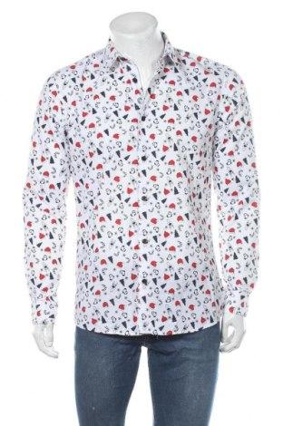 Pánská košile  Only & Sons, Velikost M, Barva Bílá, 65% polyester, 35% bavlna, Cena  750,00Kč