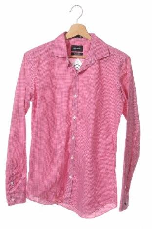 Мъжка риза Pierre Cardin, Размер S, Цвят Розов, Памук, Цена 7,85лв.