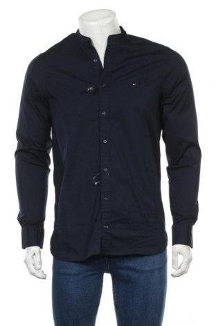 Pánská košile  Tommy Hilfiger, Velikost M, Barva Modrá, 97% bavlna, 3% elastan, Cena  842,00Kč
