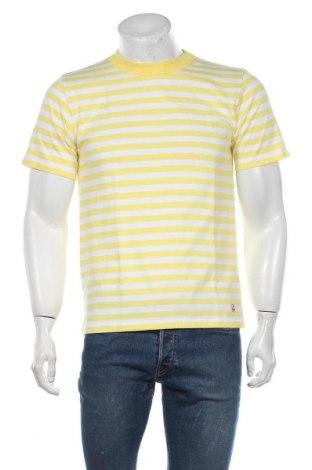 Мъжка тениска Armor-Lux, Размер M, Цвят Жълт, Памук, Цена 12,60лв.