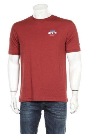 Мъжка тениска Brixton, Размер M, Цвят Червен, 60% памук, 40% полиестер, Цена 16,24лв.