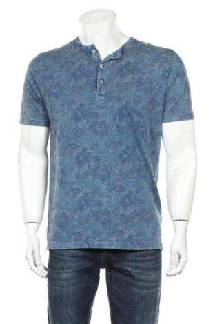 Мъжка тениска Camel Active, Размер L, Цвят Син, Памук, Цена 41,40лв.