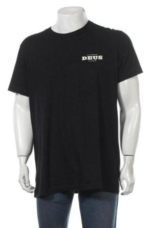 Мъжка тениска Deus Ex Machina, Размер XL, Цвят Черен, Памук, Цена 14,80лв.