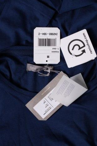 Мъжка тениска Grayson, Размер M, Цвят Син, Памук, Цена 21,00лв.