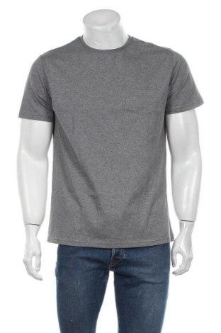 Мъжка тениска Grayson, Размер L, Цвят Сив, Памук, Цена 12,60лв.