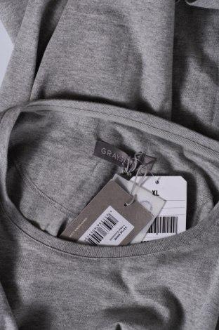 Мъжка тениска Grayson, Размер XL, Цвят Сив, Памук, Цена 12,60лв.