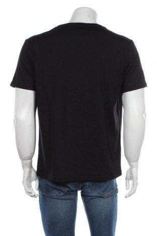 Мъжка тениска Grayson, Размер XL, Цвят Черен, Памук, Цена 12,60лв.