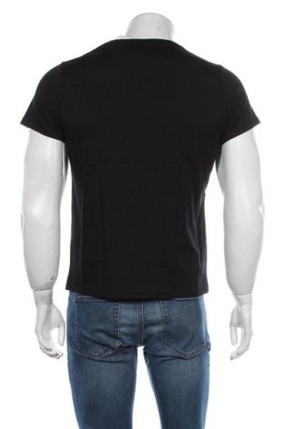 Мъжка тениска Grayson, Размер S, Цвят Черен, Памук, Цена 8,78лв.
