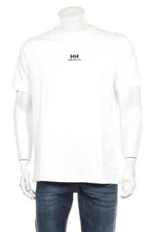 Мъжка тениска Helly Hansen, Размер XL, Цвят Бял, Памук, Цена 28,50лв.
