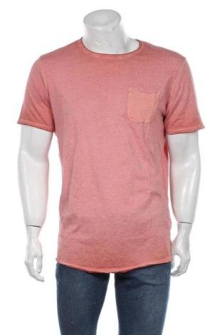 Pánské tričko  Jack & Jones, Velikost XL, Barva Růžová, Bavlna, Cena  234,00Kč