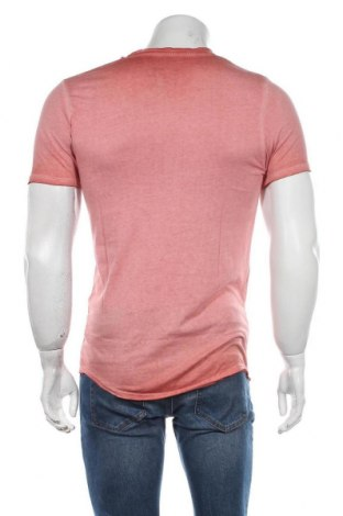 Мъжка тениска Jack & Jones, Размер S, Цвят Розов, Памук, Цена 22,05лв.