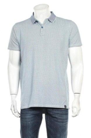 Мъжка тениска Petrol Industries, Размер XL, Цвят Син, 95% памук, 5% еластан, Цена 19,72лв.