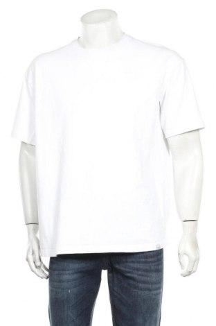 Мъжка тениска Pull&Bear, Размер XL, Цвят Бял, 100% памук, Цена 15,40лв.