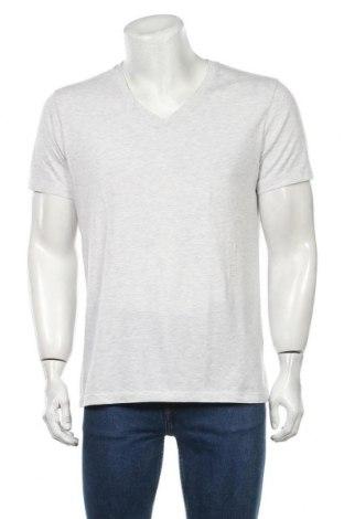 Мъжка тениска Samsoe & Samsoe, Размер XXL, Цвят Сив, 50% памук, 50% полиестер, Цена 11,73лв.