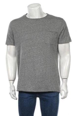 Tricou de bărbați Selected Homme, Mărime XL, Culoare Gri, Bumbac, Preț 74,41 Lei