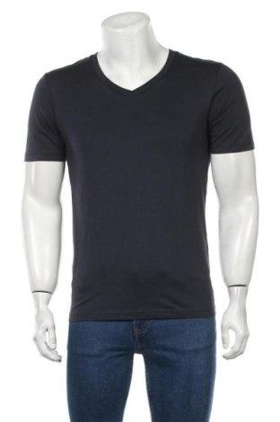 Ανδρικό t-shirt Selected Homme, Μέγεθος S, Χρώμα Μπλέ, Βαμβάκι, Τιμή 12,06€