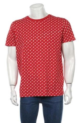Tricou de bărbați Selected Homme, Mărime XL, Culoare Roșu, Bumbac, Preț 80,13 Lei