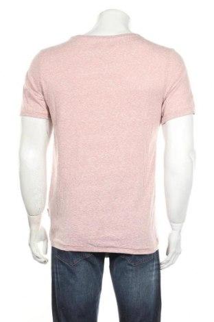 Мъжка тениска Sondag & Sons, Размер L, Цвят Розов, 50% памук, 50% полиестер, Цена 11,17лв.