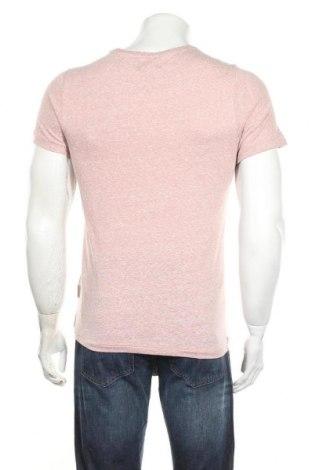 Мъжка тениска Sondag & Sons, Размер S, Цвят Розов, 50% памук, 50% полиестер, Цена 11,17лв.