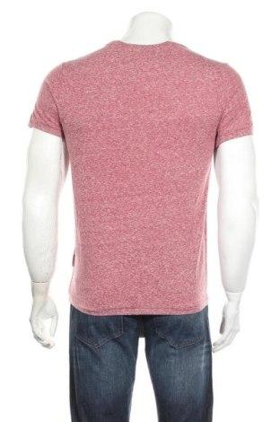 Мъжка тениска Sondag & Sons, Размер S, Цвят Червен, 50% памук, 50% полиестер, Цена 13,05лв.
