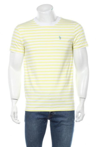 Мъжка тениска Tom Tailor, Размер M, Цвят Бял, Памук, Цена 24,36лв.