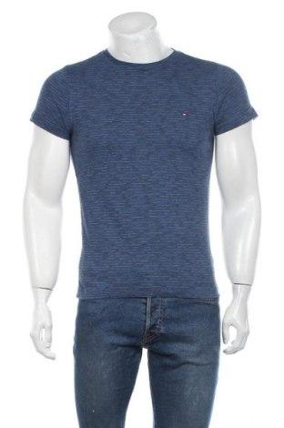 Мъжка тениска Tommy Hilfiger, Размер S, Цвят Син, Памук, Цена 17,80лв.