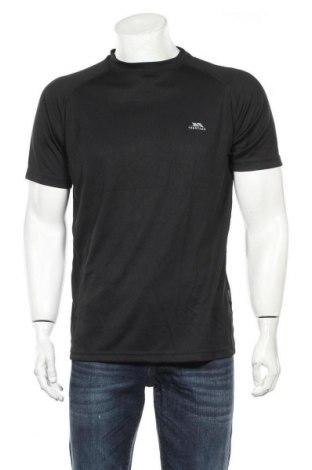 Мъжка тениска Trespass, Размер M, Цвят Черен, Полиестер, Цена 15,40лв.