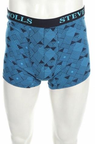 Pánske boxserky, Velikost M, Barva Modrá, 95% bavlna, 5% elastan, Cena  160,00Kč