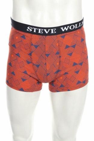 Pánske boxserky, Velikost M, Barva Oranžová, 95% bavlna, 5% elastan, Cena  166,00Kč