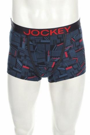 Pánske boxserky Jockey, Velikost S, Barva Modrá, 65% modal, 30% polyester, 5% elastan, Cena  242,00Kč