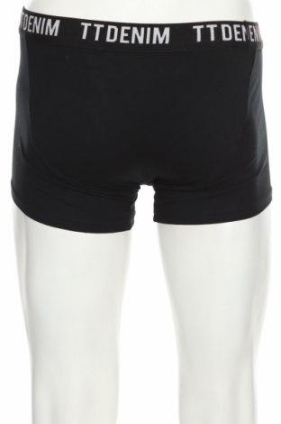 Мъжки боксерки Tom Tailor, Размер S, Цвят Черен, 95% памук, 5% еластан, Цена 21,75лв.