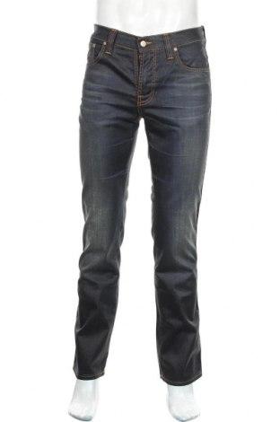Мъжки дънки Nudie Jeans Co, Размер M, Цвят Син, Памук, Цена 43,47лв.