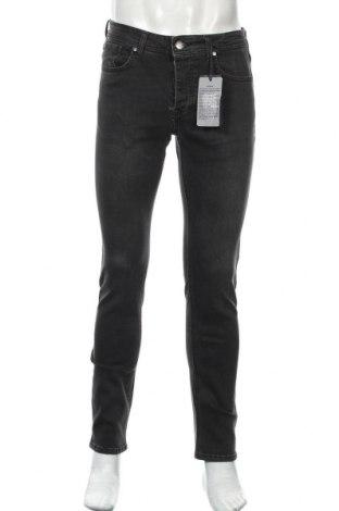 Мъжки дънки Paul Hunter, Размер M, Цвят Сив, 98% памук, 2% еластан, Цена 32,11лв.