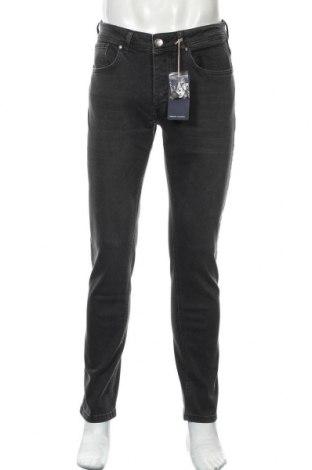Мъжки дънки Paul Hunter, Размер M, Цвят Сив, 98% памук, 2% еластан, Цена 38,87лв.