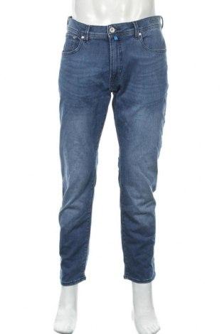 Мъжки дънки Pierre Cardin, Размер L, Цвят Син, 89% памук, 11% еластан, Цена 26,40лв.