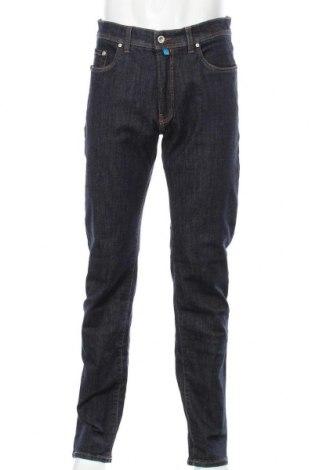 Мъжки дънки Pierre Cardin, Размер L, Цвят Син, 92% памук, 6% полиестер, 2% еластан, Цена 34,27лв.