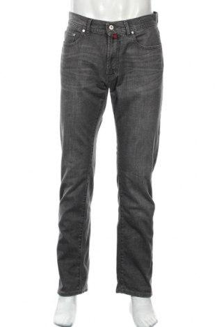Мъжки дънки Pierre Cardin, Размер M, Цвят Сив, 98% памук, 2% еластан, Цена 37,49лв.