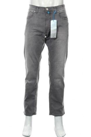Мъжки дънки Pierre Cardin, Размер XL, Цвят Сив, 94% памук, 4% полиестер, 2% еластан, Цена 42,25лв.