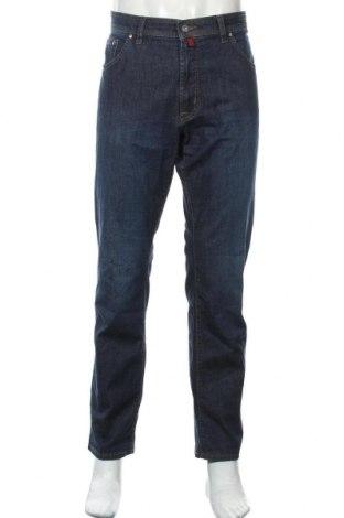 Мъжки дънки Pierre Cardin, Размер L, Цвят Син, 88% памук, 10% полиестер, 2% еластан, Цена 48,88лв.