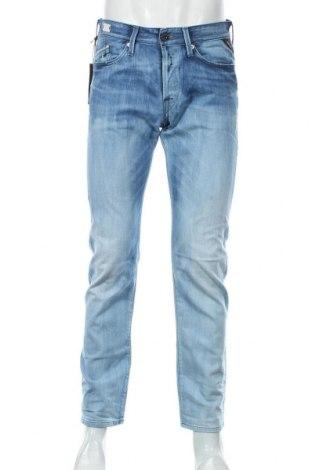 Мъжки дънки Replay, Размер M, Цвят Син, 98% памук, 2% еластан, Цена 59,57лв.