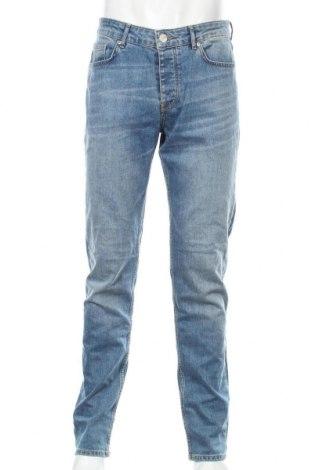 Blugi de bărbați Review, Mărime M, Culoare Albastru, 98% bumbac, 2% elastan, Preț 87,34 Lei