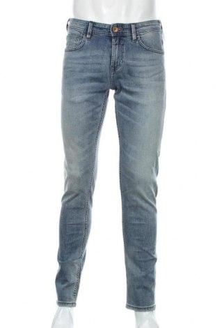 Мъжки дънки Tom Tailor, Размер S, Цвят Син, 99% памук, 1% еластан, Цена 31,15лв.